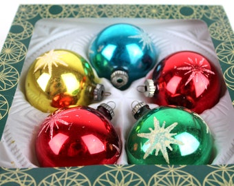 5 Christmas tree   6 cm vintage