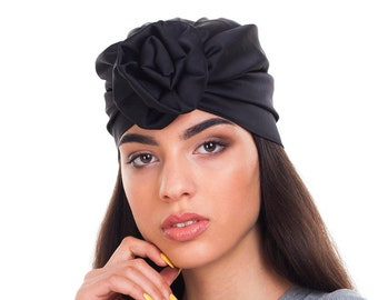 e8a06f11a0e Silk hair wrap silk turban head wrap for woman hat woman turban headband  woman 40s turban hat adult headwrap women
