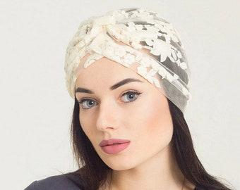 Turban headband women lace turban hat African head wraps for women summer turban  women. 47ac2b40b74