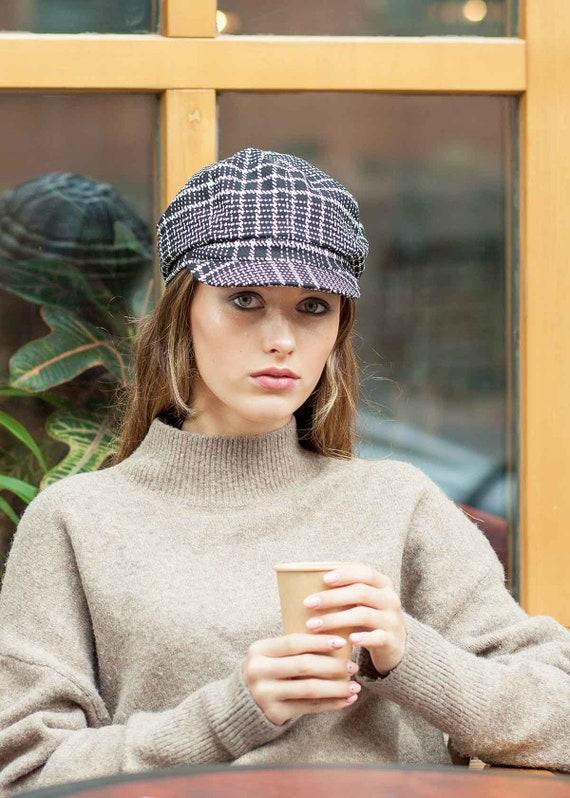 Newsboy cap women Cotton cap Women's newsboy hat | Etsy