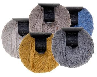 Tasmanian Tweed - Atelier Zitron - Original Tasmanian Tweed in Merino extrafine - DK - Needle size 4 - 4,5 mm, mulesing free Merino wool