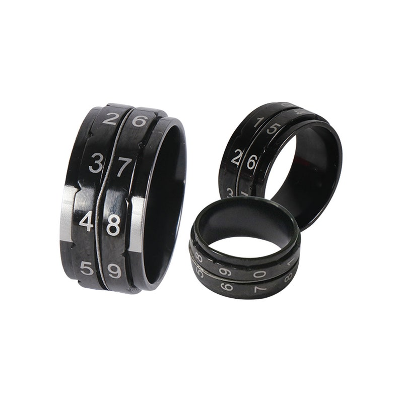 Row counter Ring / Round counter  Knit Pro Black Knitting image 0