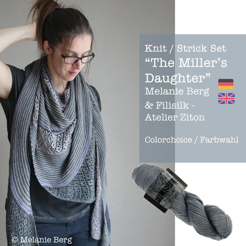 Knit Set: The Miller's Daughter by Melanie Berg  image 0