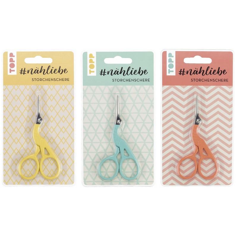 Handcraft scissors nähliebe  Lacquered handcraft scissors in image 0