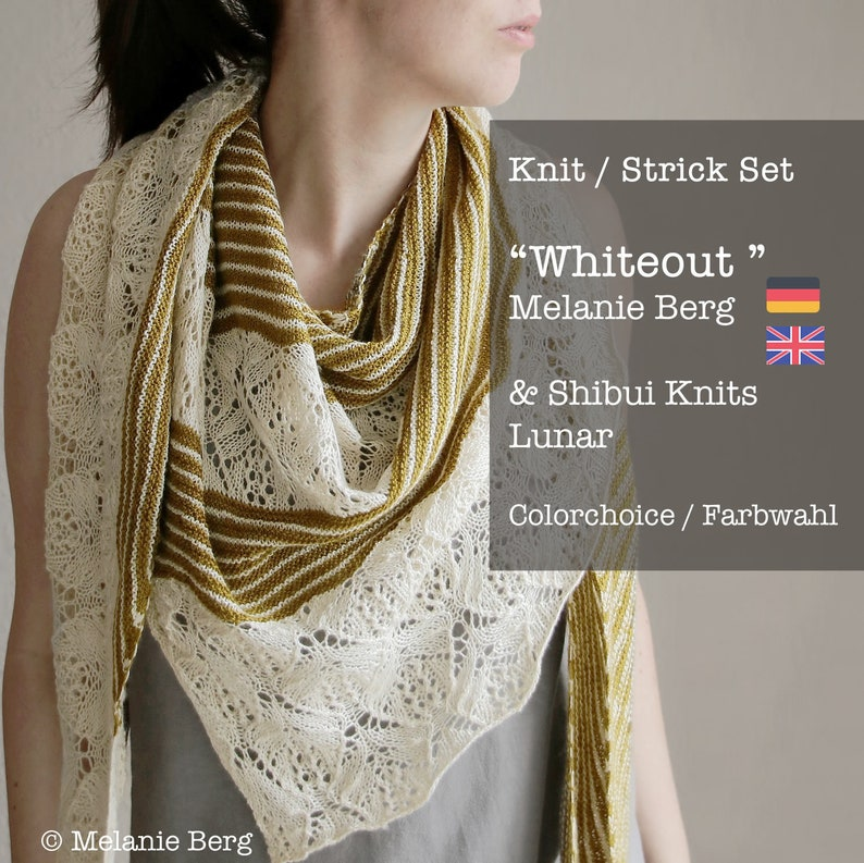 Knit Kit: Whiteout by Melanie Berg  pattern in English or image 0
