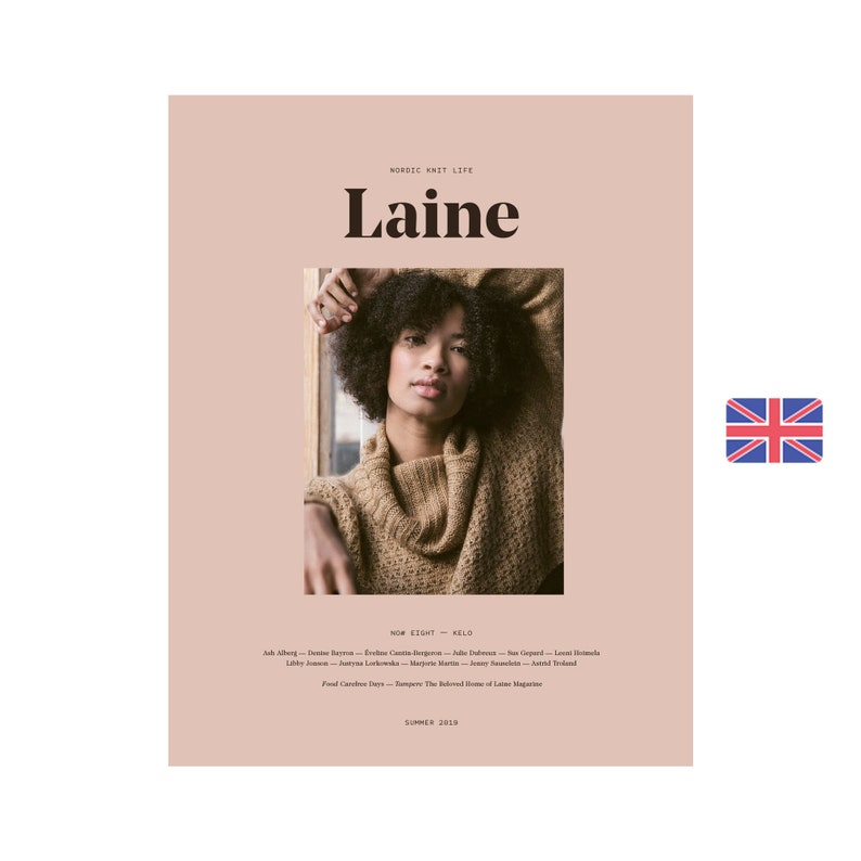 Laine Magazine Issue 8 Kelo  Summer 2019  Release date image 0