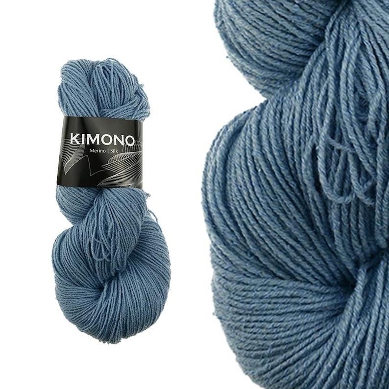 KIMONO  New Wool Merino extrafine  Silk Mullberry  image 0