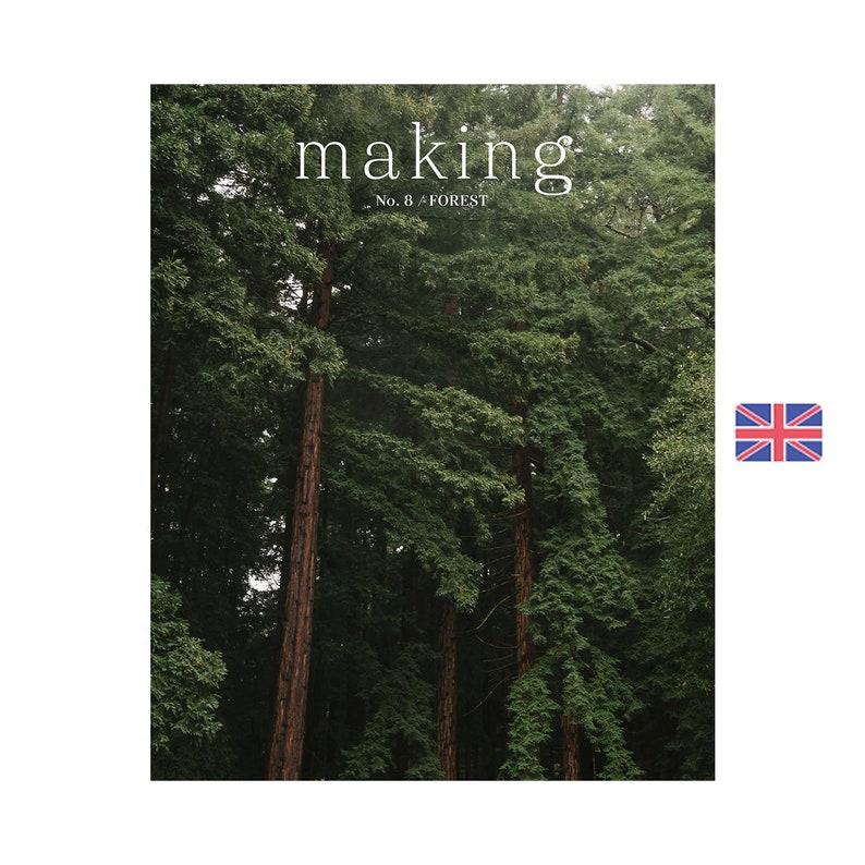 Making No. 8 / FOREST  Knitting & Craft Magazine  Knit  Sew image 0