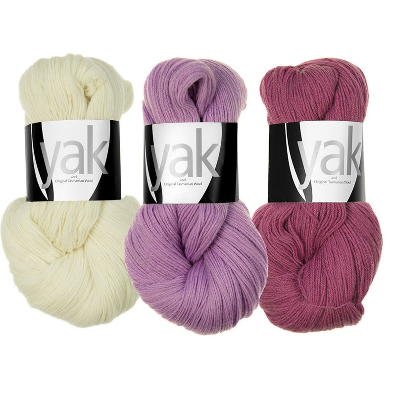 Atelier Zitron  Yak  100g/3.53 oz.  Fingering New Wool image 0