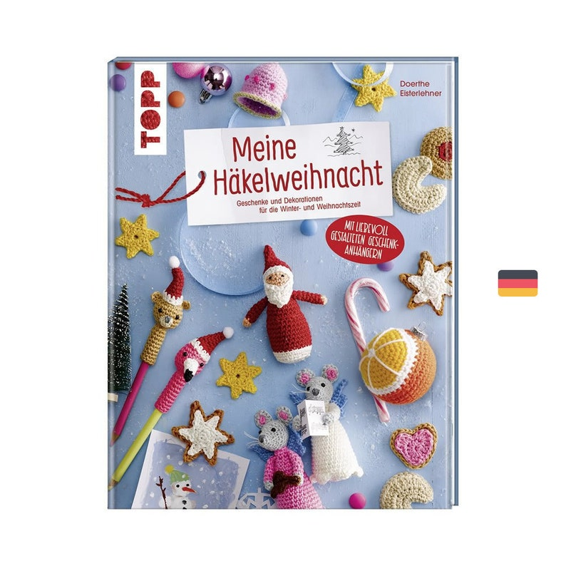 Book: Meine Häkelweihnacht  Gifts and decorations for the image 0