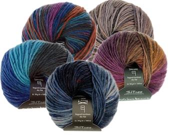 Nimbus - Atelier Zitron - 100% virgin wool (kbT) - needle size: 5 - 5,5 - Organic Merino dyed according to Ökotexstandard 100