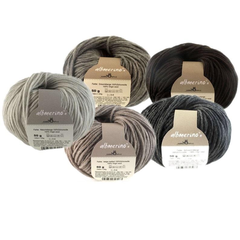 albmerino  Sustainable wool from Swabian Jura  Schoppel wool image 0