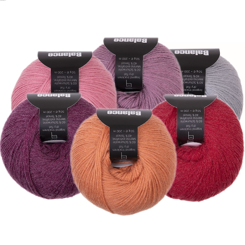 Balance  Atelier Zitron  plastic free sock yarn  new wool image 0