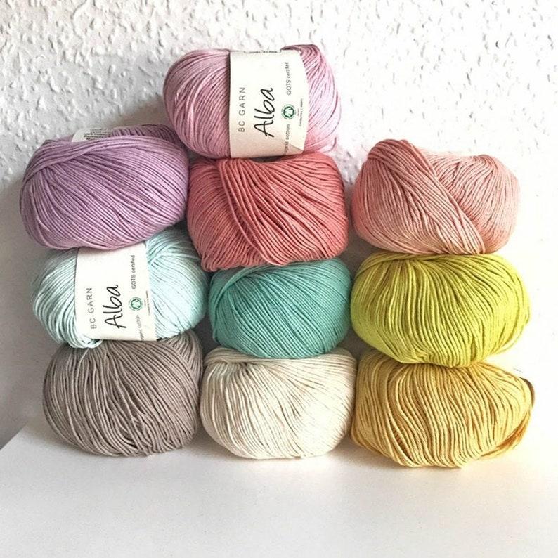 ALBA  Colour Variety Set  Basic Girly Pastel  10 balls in image 0