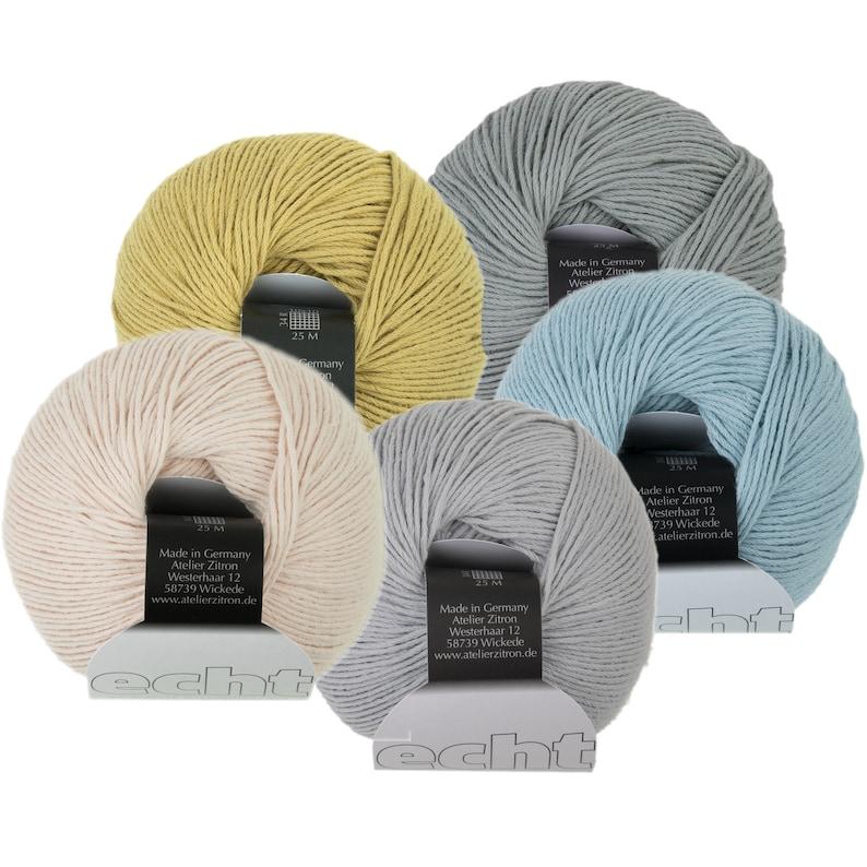 Echt  100% Organic Cotton  Atelier Zitron  50g  Sport  image 0