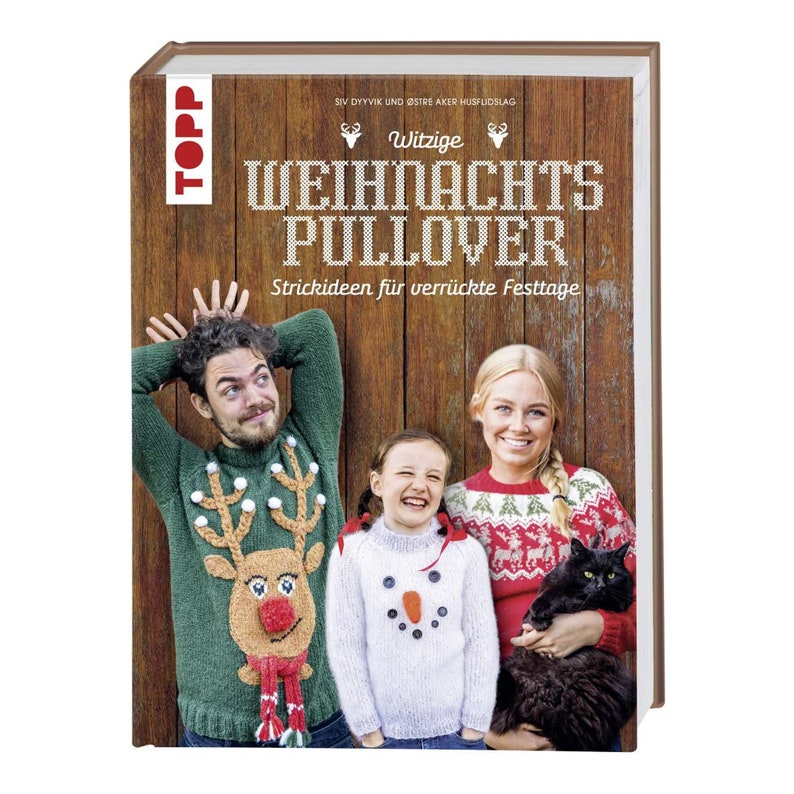 German Book: Funny Christmas Sweaters  Knitting Ideas for image 0