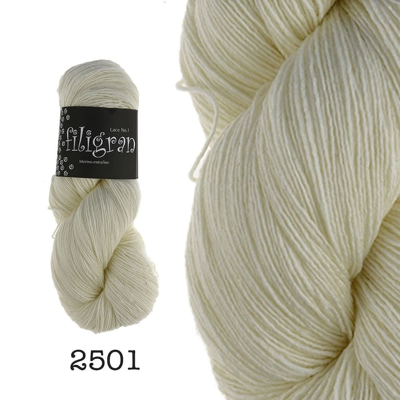 Filigree  100g  Lace / Lace fine yarn for lace cloths image 0