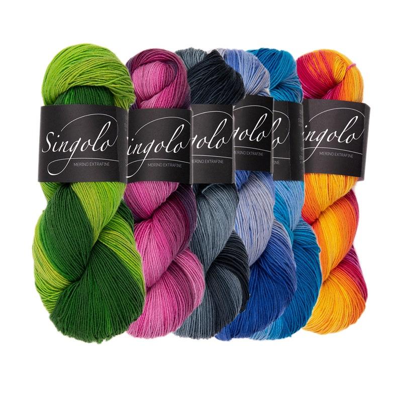 singolo  Atelier Zitron  100 % virgin wool Merino image 0
