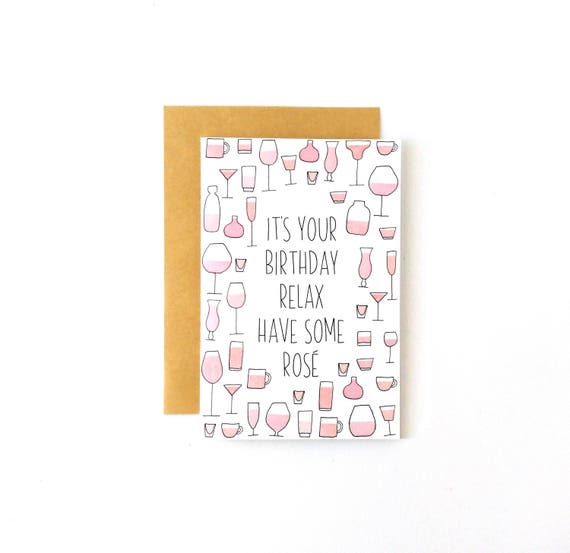 Pink Birthday Card Humor Funny