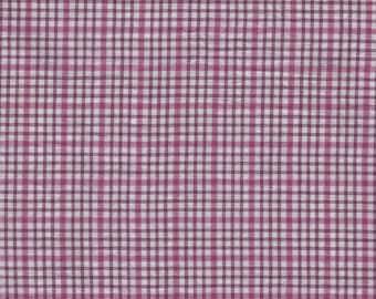 Cotton Plaid purple by 50cm x 150cm width