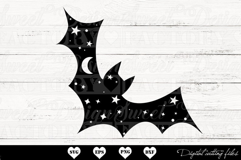 magic svg halloween animal witchcraft svg astronomy svg Bat svg commercial use witch svg bat cut file