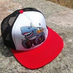Kids Trucker Hat | Monster Truck | Boys Trucker Hat | Trucker Hat for Kids | Kids Trucker Hats | Kids Snapback | Youth Trucker Hat | Toddler