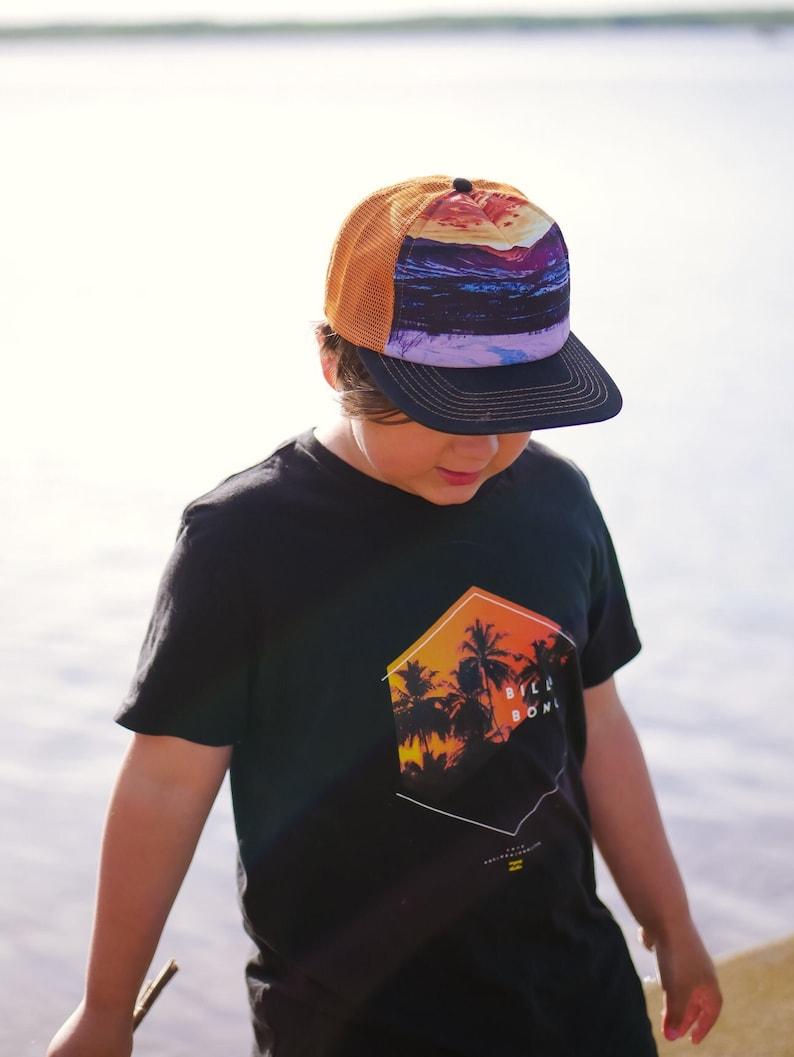 Kids Trucker Hats Kids Snapback Mountain Trucker Hat Boys Trucker Hat Kids Trucker Hat Trucker Hat Snowy Mountain Hat