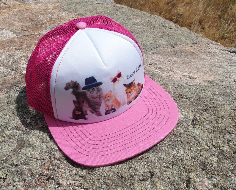 Kids Trucker Hat  Toddler Trucker Hat  Girls Trucker Hat  image 0