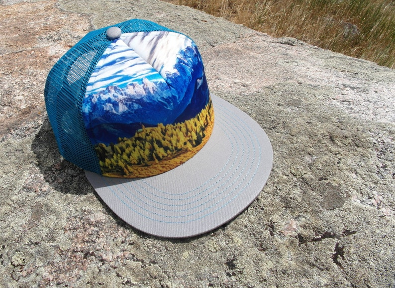 Trucker Hat  Youth Trucker Hat  Kids Trucker Hat  Mountain image 0