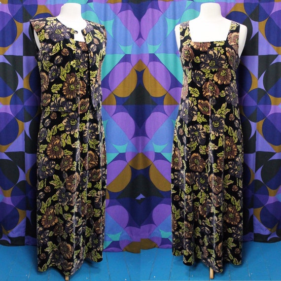 Gorgeous Vintage 70s Marion Donaldson Autumnal Pri