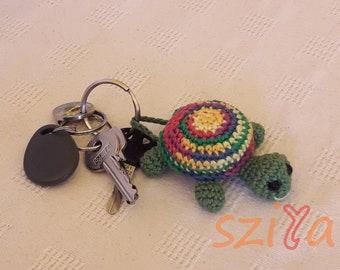 Turtle Key Ring Crochet Pattern
