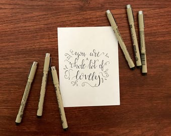 Love Quote Calligraphy