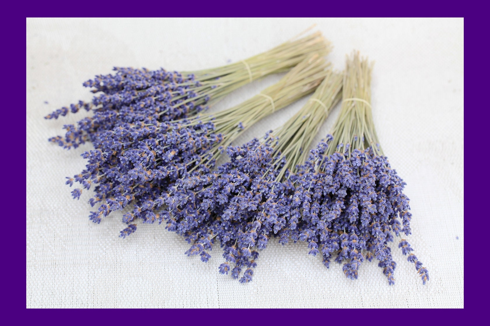 100+ Organic Lavender Cocktail Picks \\ Dried English Lavender Sprigs Garnish Picks Napkin Decoration Lavender Stems