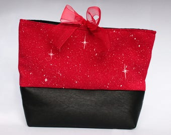 Starry red pouch