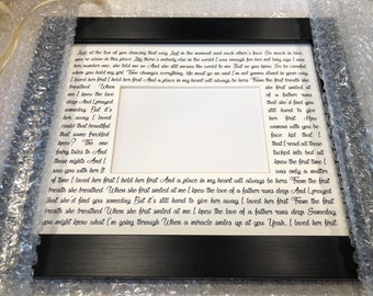 Personalized Framed Wedding Gift for Couples, Unique Gift for Couples , Engagement Gift, Personalized Wedding Gifts