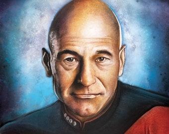 Captain Picard Print