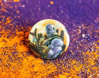 Thanos Button/Magnet