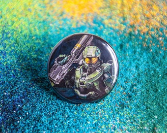Master Chief Button/Magnet