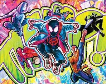 Spider-Verse Print