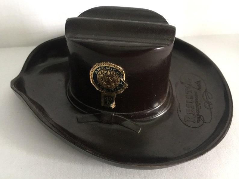 8edfa12209dd6 Vintage Resistol Cowboy Hat Promotional Advertising Miniature