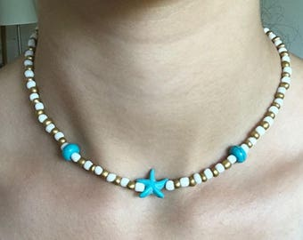 Caribbean Starfish Necklace