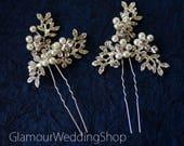 Sale - Wedding Hair Pin Bridal Hair Pins Silver Bridal Headpiece Bridal Hairpiece Wedding Hair Bridal Hair Accessory Bridal Hair Piece