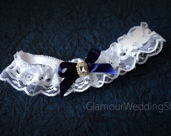 Wedding Garter Bridal Garter  Lace Garter Keepsake Garter Toss Garter