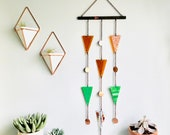 Geometric Stained Glass Wall Hanging Female Energy Art Positve Energy Art