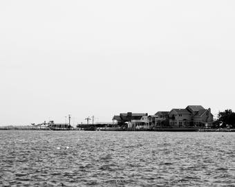 Black and White Photography - At The Docks