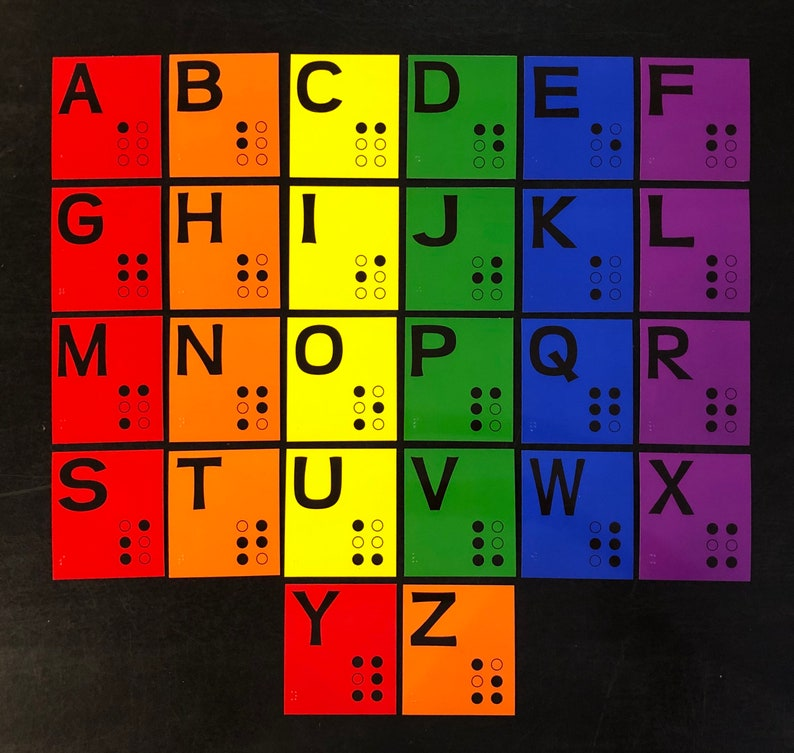 Braille Alphabet Set for Learning Braille  Low Vision  NOW 3 image 0