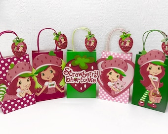 Strawberry Shortcake Party Bags