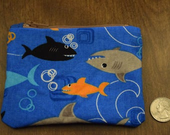 Shark Change Purse #2