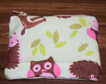 Forest Creatures Change Purse