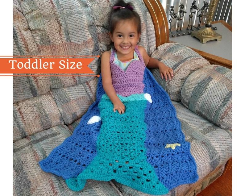 Mermaid Crochet Pattern Princess Dress Blanket Mermaid Tail Etsy